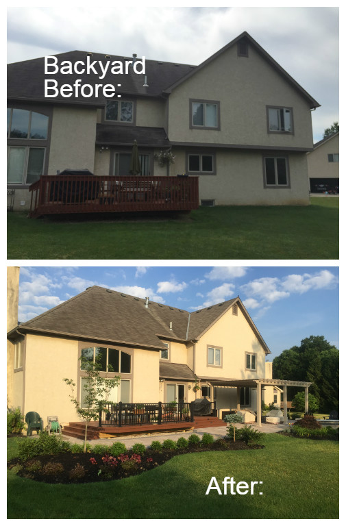 New Albany OH Before and After