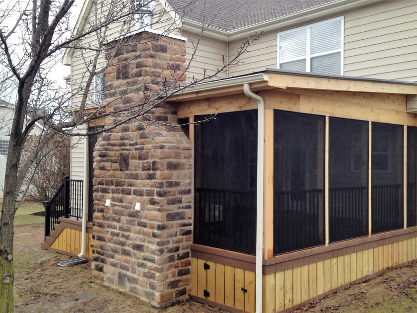 Columbus OH Screened Porch Builder