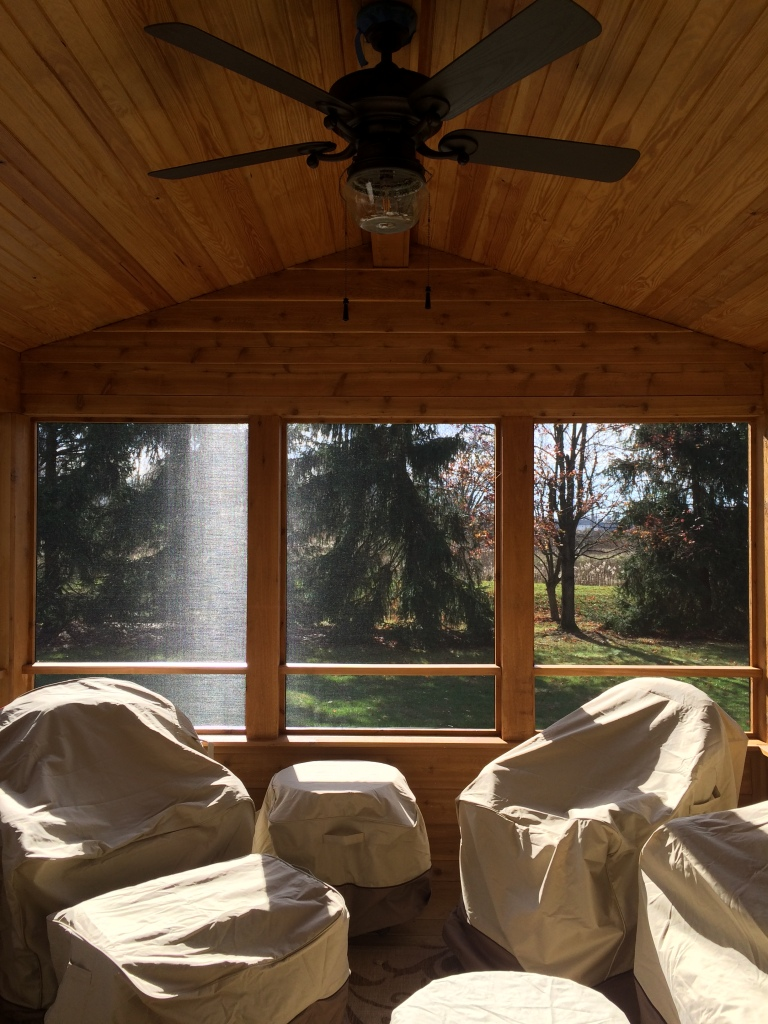 Columbus Screened Porch Interior