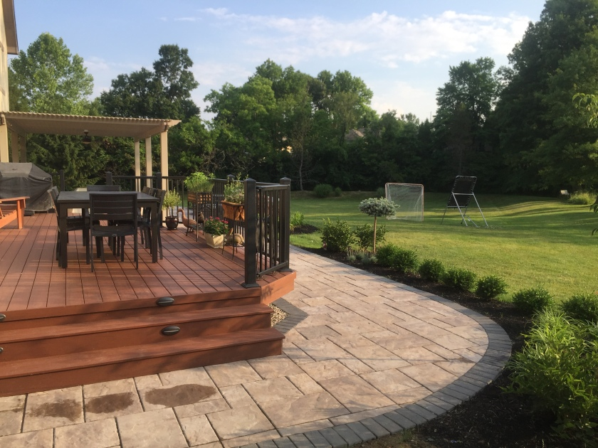 Deck & Patio Combination Space  Columbus Decks, Porches. Outside Patio Bar Chairs. Patio Bar Tapas. Patio Set Sale Lowes. Backyard Patio Designs. Patio Furniture Leesburg Fl. Paver Patio Size. Patio Bar Rental. Patio Paving Planner