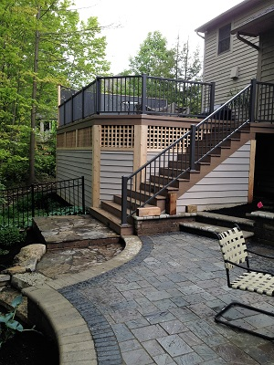 Westerville Deck and Patio combo