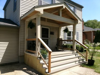 Clintonville OH Porch Builders