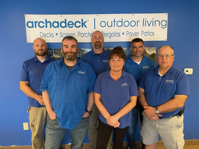 The Archadeck of Columbus Team