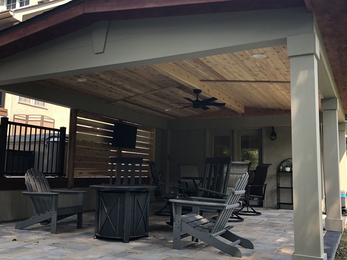 lewis center oh covered patio porch builders